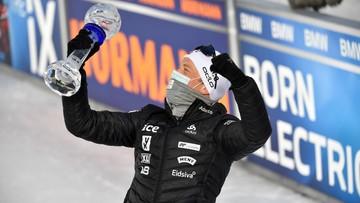 PŚ w biathlonie: Trzecia z rzędu Kryształowa Kula Boe