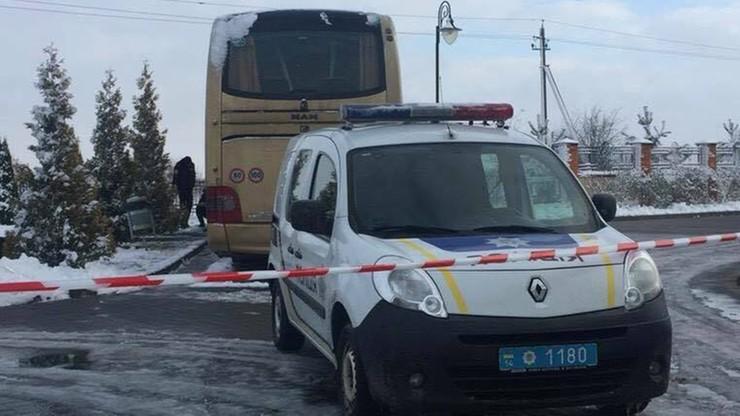 Ukraina: bomba eksplodowała w nocy pod polskim autokarem. Był pusty, nikt nie ucierpiał