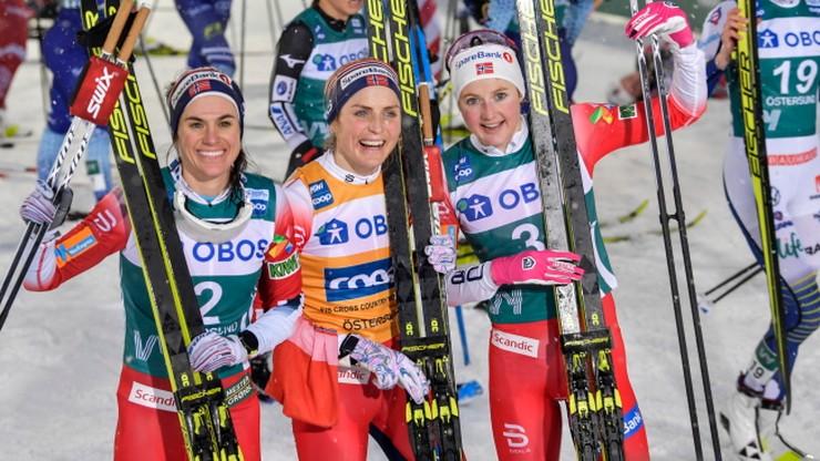 PŚ w biegach: Norweżki rządzą, drugi triumf Johaug w Oestersund