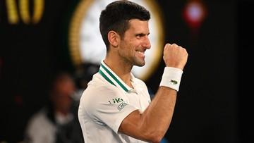 Australian Open: Novak Djoković pierwszym finalistą