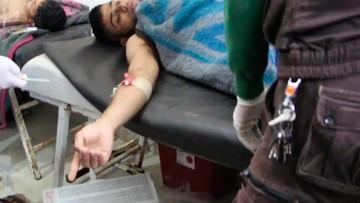 Reuters: w ataku chemicznym w Syrii użyto sarinu