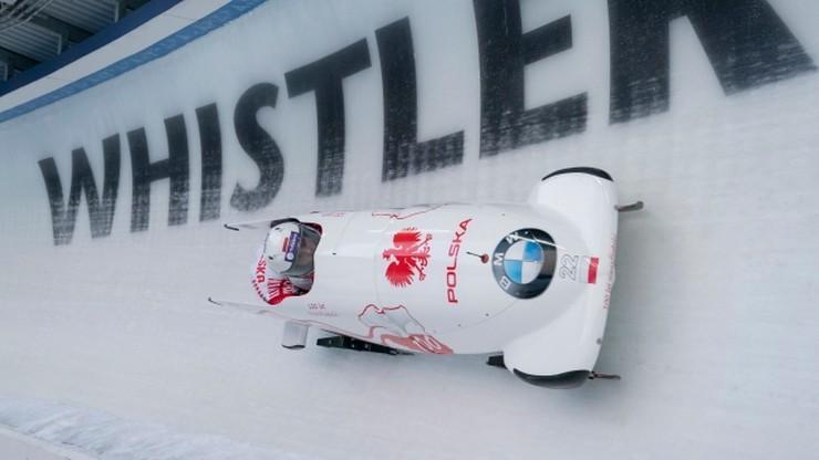MŚ w bobslejach: Polki na 16. miejscu na półmetku rywalizacji dwójek