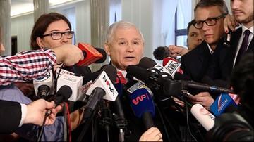"""""""Trzeba przebudować regulamin, żeby takie operacje był bardzo utrudnione"""" - Kaczyński o proteście PO"""