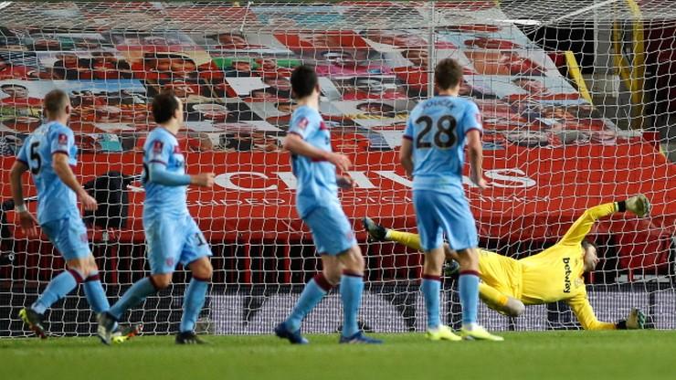 Puchar Anglii: Drużyna Łukasza Fabiańskiego wyeliminowana przez Manchester United
