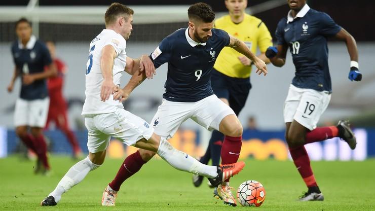 Wembley: Anglia pokonała Francję 2:0