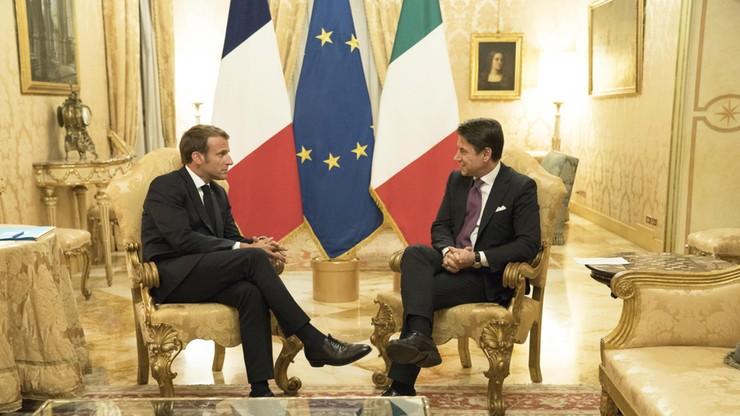 Macron za karami dla państw UE, które nie chcą migrantów