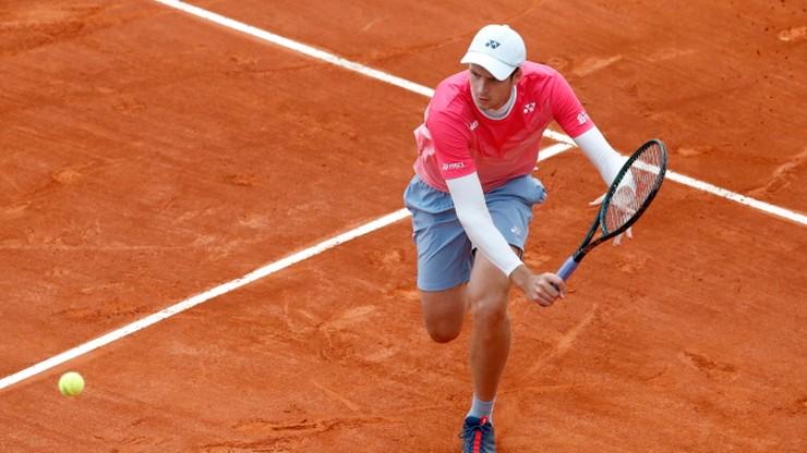 ATP w Monte Carlo: Hubert Hurkacz przegrał z Danielem Evansem