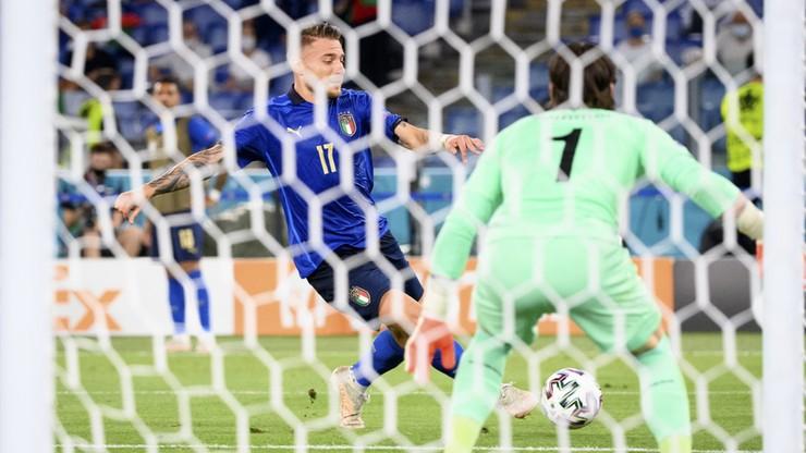 Euro 2020: Włochy - Szwajcaria 3:0. Gol Ciro Immobile