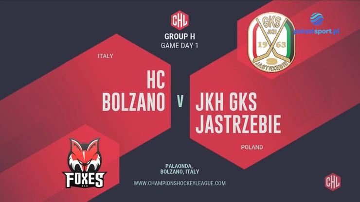 Liga Mistrzów: HC Bolzano - JKH GKS Jastrzębie 3:1. Skrót meczu