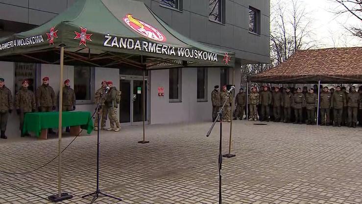 Żandarmeria Wojskowa wezwała dziennikarzy do zaniechania krytycznych publikacji