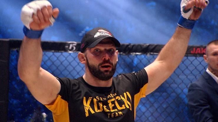 Brat Szymona Kołeckiego podpisał kontrakt z czołową, polską organizacją MMA