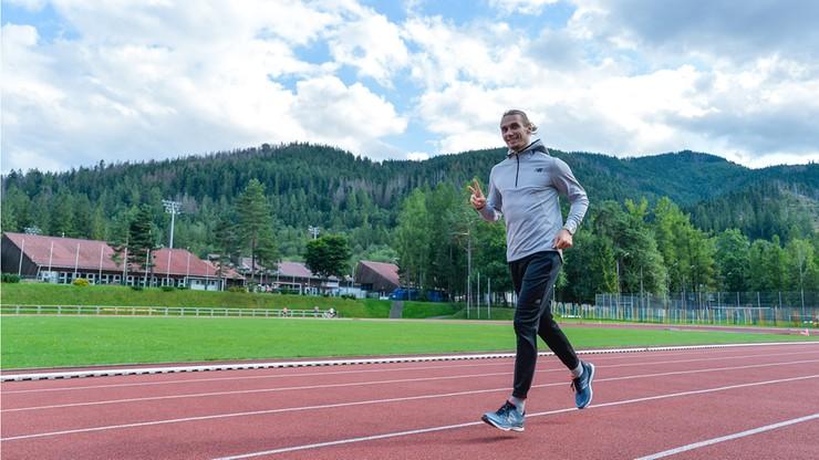 Rekordzista świata trenuje w Zakopanem przed mistrzostwami w Dausze