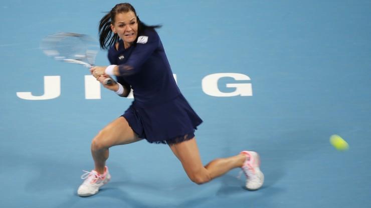 WTA Tiencin: Radwańska w finale! Pliskova nie miała szans
