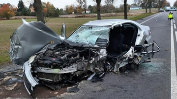 Śmiertelny wypadek na Lubelszczyźnie. Nie żyje kierowca mercedesa