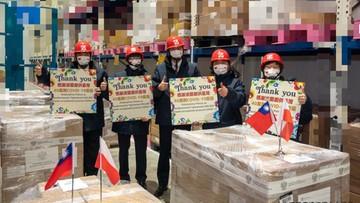 Tajwańczycy dziękują Polakom. Promują polskie produkty