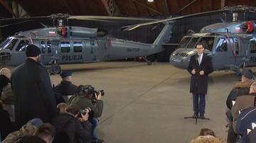 Polska policja dostała dwa nowe śmigłowce Black Hawk. Kolejne otrzyma w przyszłym roku