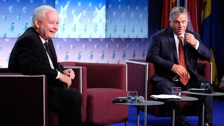 """Orban i Kaczyński jednym głosem o przyszłości Europy. """"Jedyną alternatywą są zmiany"""""""