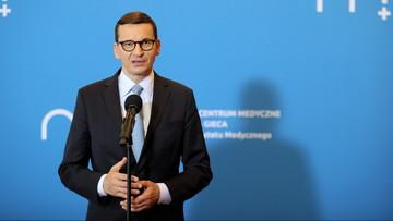 """Morawiecki o postulacie likwidacji szpitali"""" Kompleksowy program poprawy służby zdrowia"""""""