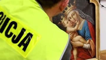 XVIII-wieczny obraz skradziono 25 lat temu. Znaleziono go w prywatnym mieszkaniu