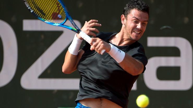 Challenger Poznań Open: Pogromca Janowicza wciąż wygrywa