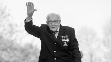 Nie żyje kapitan Tom Moore. Stuletni weteran zebrał miliony funtów dla służby zdrowia