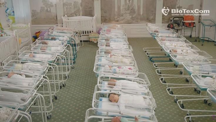 Nielegalny handel dziećmi? Klinika pełna niemowląt od surogatek