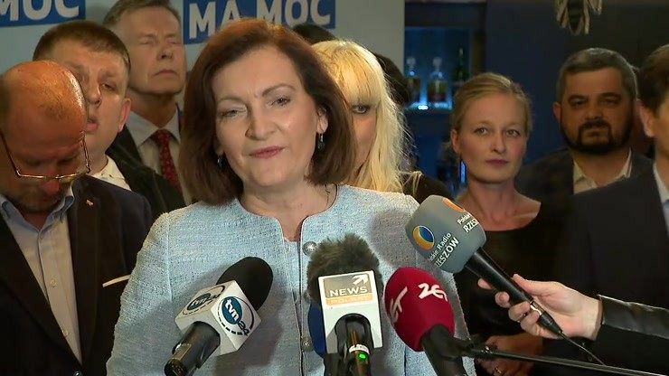 Ewa Leniart po wyborach w Rzeszowie: gratuluję zwycięzcy