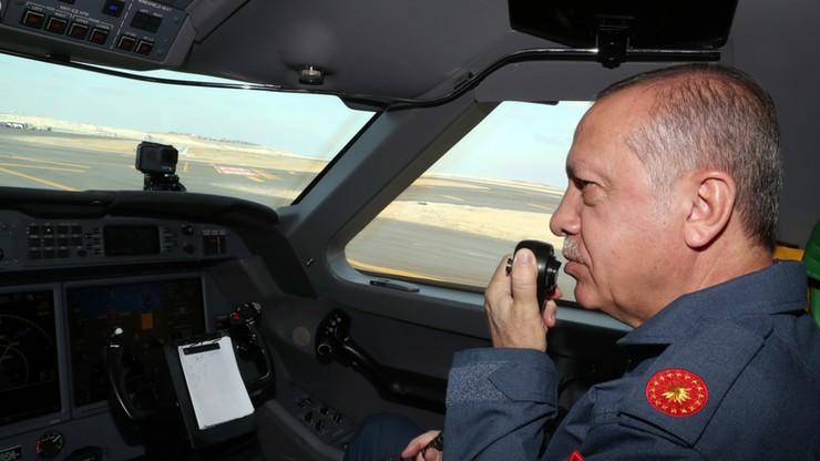 Prezydent Turcji zapowiada strefę bezpieczeństwa w Syrii na wschód od Eufratu