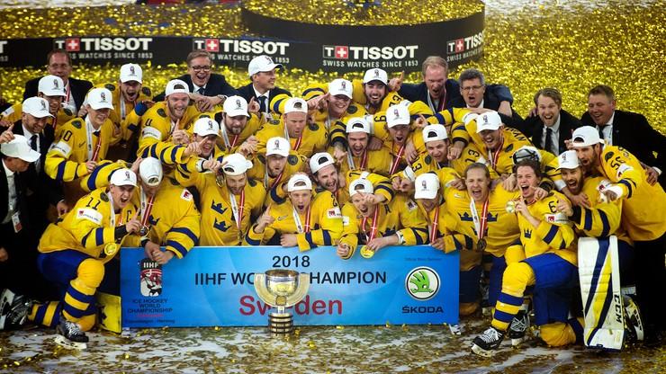 Hokejowe MŚ: Szwecja ze wsparciem graczy NHL chce wygrać po raz trzeci z rzędu