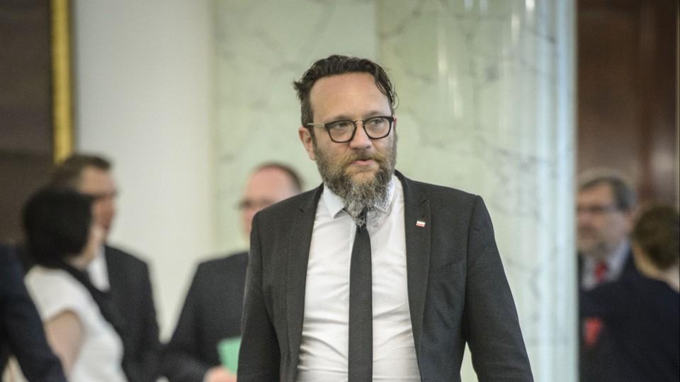 Marcin Kędryna: dostałem na Nowogrodzkiej krzesło i kabel do Internetu