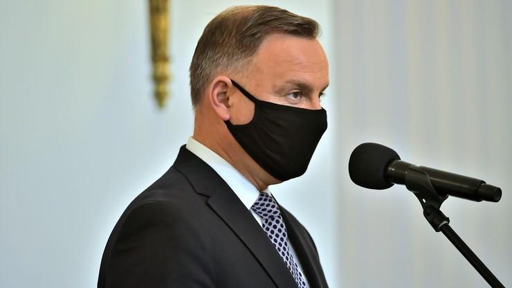 Andrzej Duda: właśnie zarejestrowałem się na szczepienie