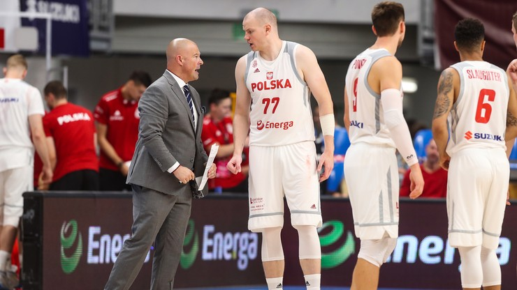 Taylor powołał kadrę koszykarzy na mecze z Izraelem i Hiszpanią