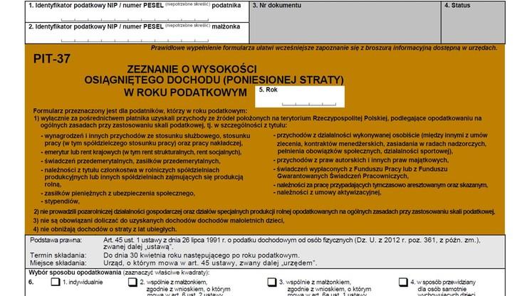 Ułatwienia w rozliczaniu PIT przez internet. Sejm przyjął poprawki