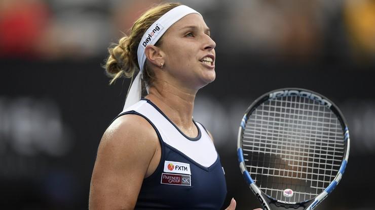 WTA w Budapeszcie: Awans Cibulkovej do półfinału