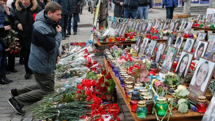 """Druga rocznica """"krwawego czwartku"""" na Majdanie. Tego dnia zginęło prawie 80 osób"""