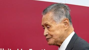 Szef Komitetu Organizacyjnego igrzysk w Tokio zrezygnował z funkcji