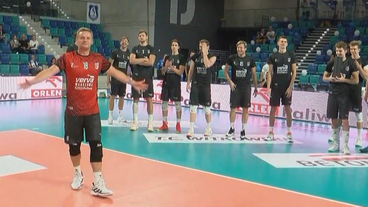 Turniej w Suwałkach: Siatkarze Vervy wygrali z gospodarzami