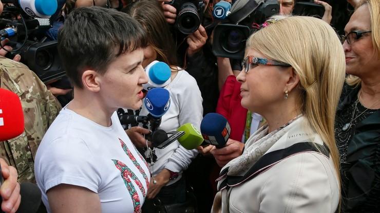 """Sawczenko wykluczona ze swojej frakcji. """"Zasady i poglądy  frakcji i deputowanej nie do pogodzenia"""""""