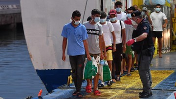 """""""Ogromne ryzyko"""" nowej fali migracyjnej we Włoszech"""