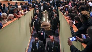 """Pogrzeb Arethy Franklin, królowej soulu. """"Miała głos pokolenia, a może nawet całego stulecia"""""""
