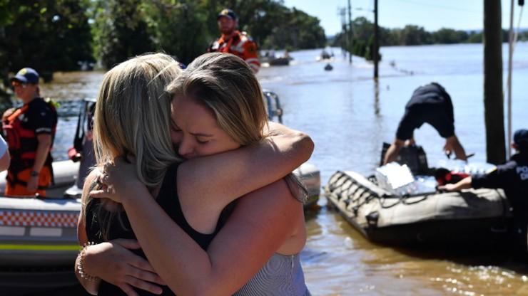 Pierwsza ofiara śmiertelna powodzi w Australii