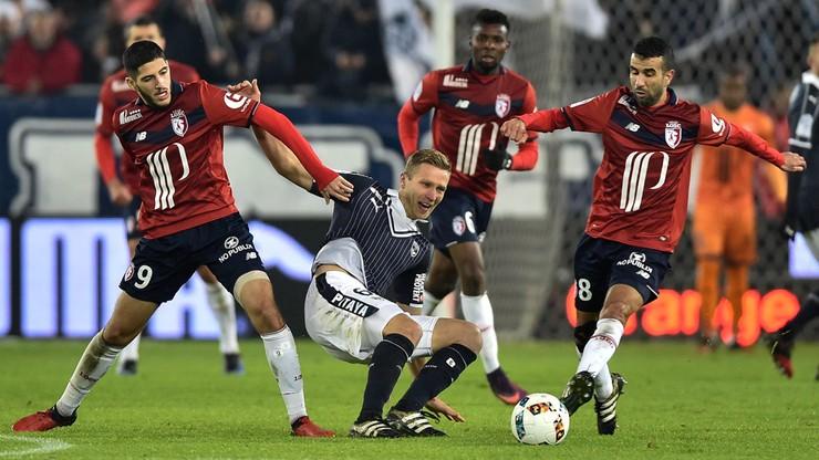 Kontuzja Lewczuka w meczu ze Stade Rennes