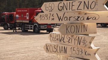 """Polscy strażacy za kilka dni zakończą misję w Szwecji. """"Sytuacja jest opanowana"""""""