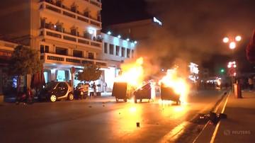 Protesty na wyspie Lesbos. Policja zatrzymała 120 osób