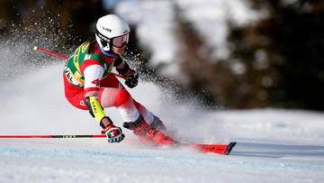 Alpejski PŚ: Maryna Gąsienica-Daniel z najlepszym czasem drugiego przejazdu giganta