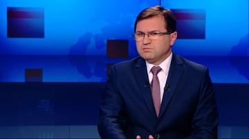 """""""Próba odwracania uwagi zasługami od problemów"""".  Girzyński o Piniorze w programie """"Gość Wydarzeń"""""""