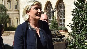 Le Pen odwołała spotkanie z muftim, bo nie chciała założyć chusty