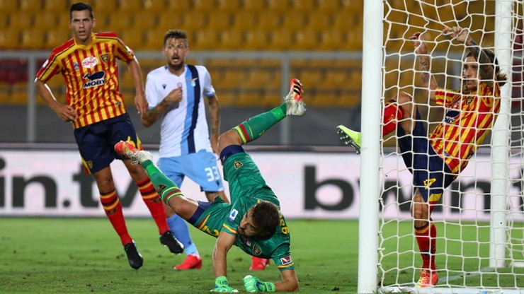 Serie A: Wpadka Lazio w meczu z Lecce. Patric pogryzł jednego z rywali
