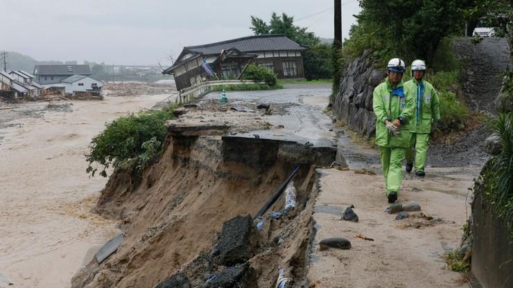Powodzie w Japonii. Co najmniej sześć ofiar, wielu zaginionych