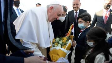 Papież Franciszek w Iraku. Dwa ważne gesty